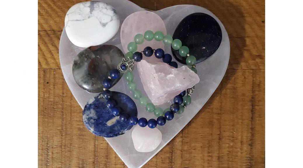 Large Heart Selenite Charging Plate for Crystal Charging, Chakra Balance by Chakra Rox