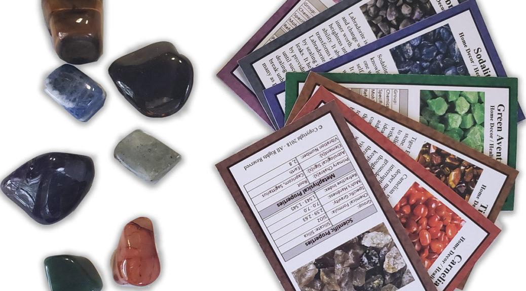 Chakra Rox Chakra Healing Tumbled Stone Set with Amethyst, Labradorite, Sodalite, Aventurine, Tiger's Eye, Carnelian, Smoky Quartz